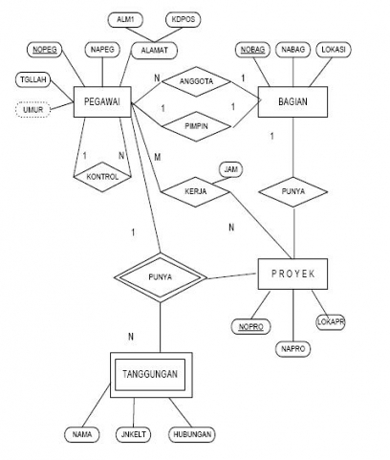 ERD Normalization | Goesary Documentation